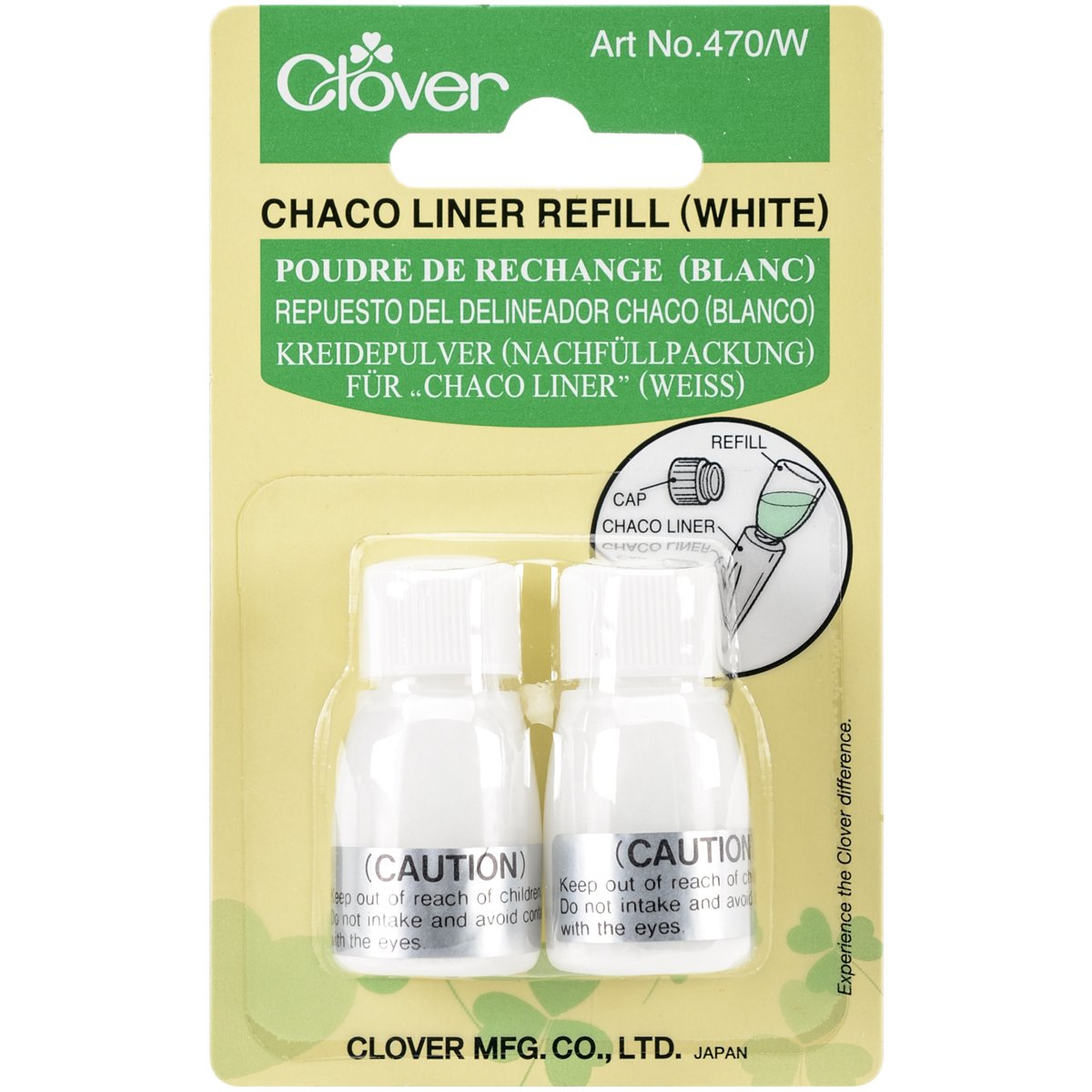 Clover Refill Chaco Liner, Yellow 470/Y