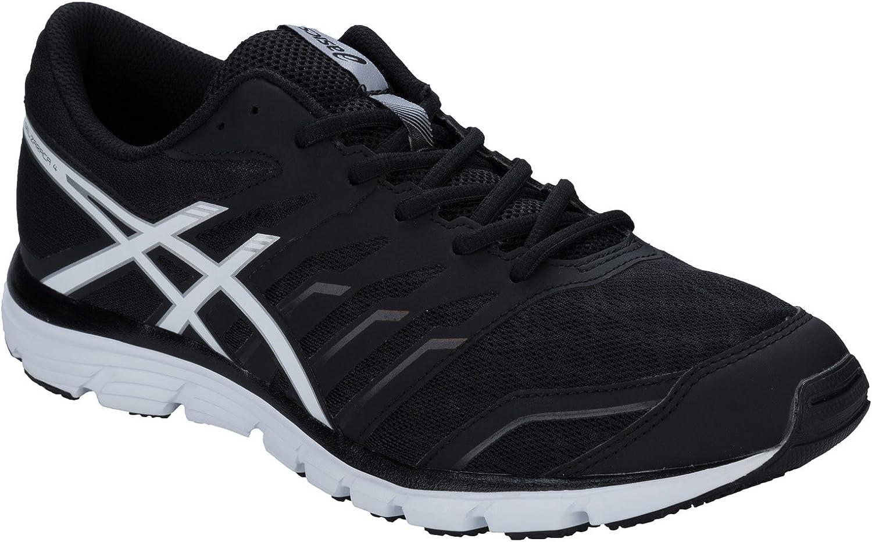 ASICS Gel-Zaraca 4 - Zapatillas de Running de sintético para Hombre Negro Negro Negro Negro Talla:7,5: Amazon.es: Deportes y aire libre