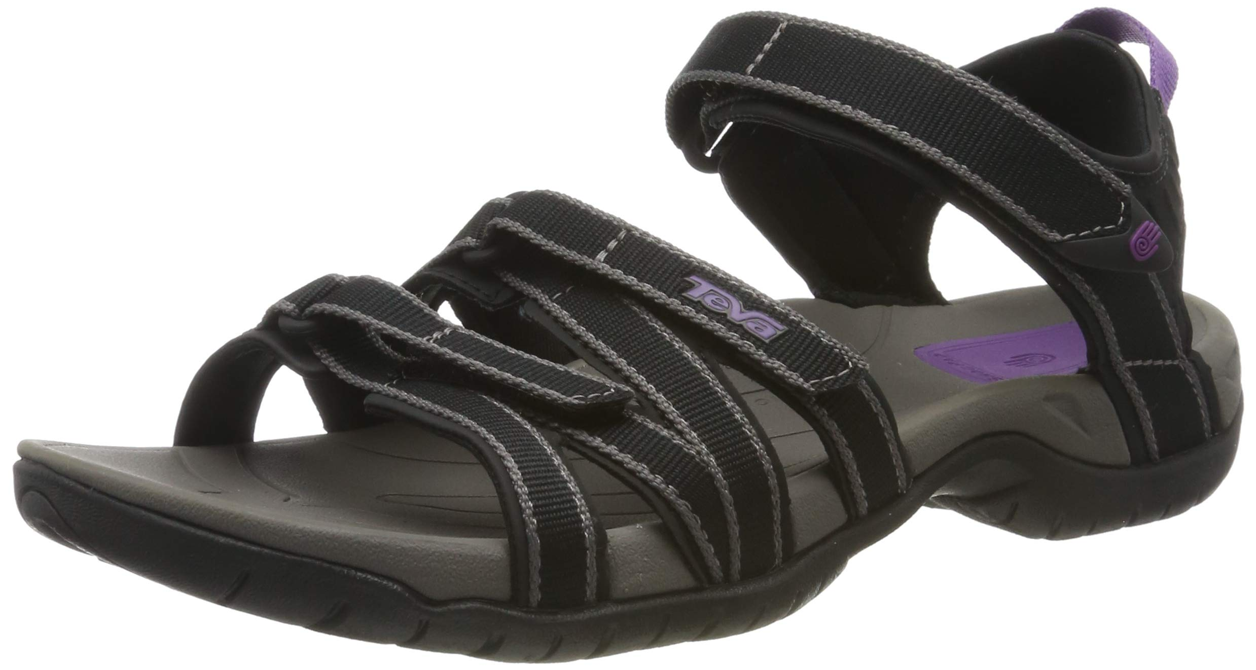 Teva Women's Tirra Sandal,Black/Grey,9 M US by Teva