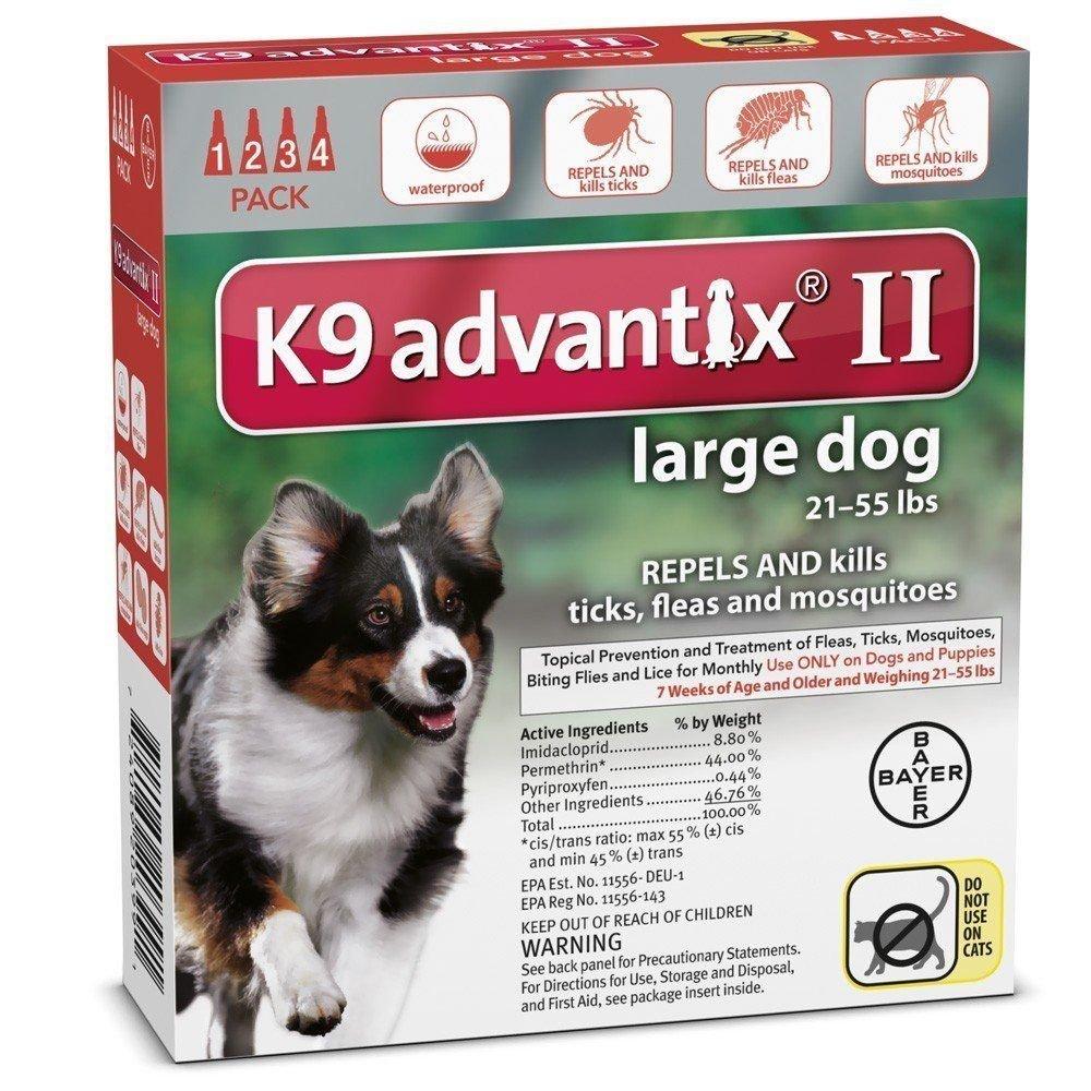 Amazon K9 ADVANTIX II FOR LARGE DOGS By K 9 Advantix Pet Supplies