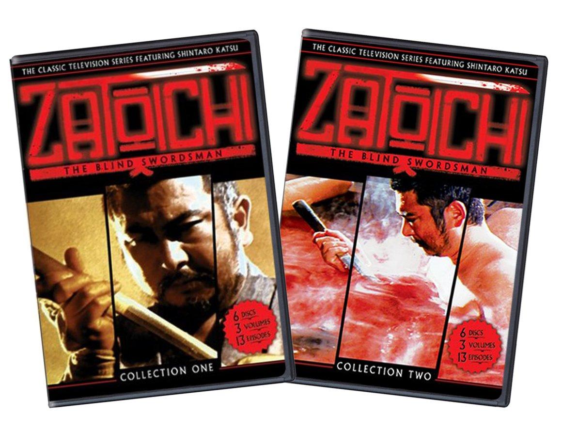 Zatoichi: The Blind Swordsman Complete TV Series Collection 1 & 2