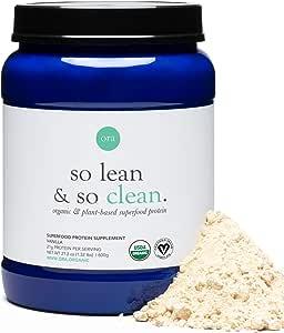 Ora Organic Vegan Protein Powder - 21g Plant Based Protein Powder for Women and Men | Keto Friendly, Gluten Free, Paleo, Dairy-Free, Gluten-Free, Soy-Free - Vanilla Flavor, 20 Servings