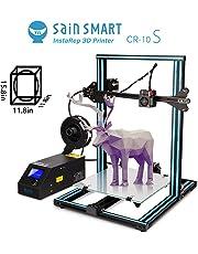SainSmart x Creality CR-10S 3D-Drucker vormontiert, Dual Z-Achse, hohe Präzision mit beheiztem Druckbett, große Druckgröße 300 x 300 x 400 mm