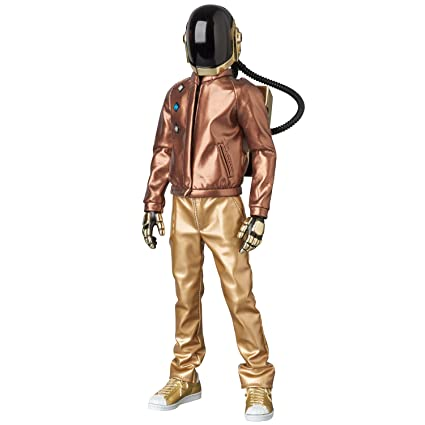 855af8b0 Amazon.com: Medicom Daft Punk: Guy-Manuel Discovery Version 2.0 Real Action  Heroes Action Figure: Toys & Games