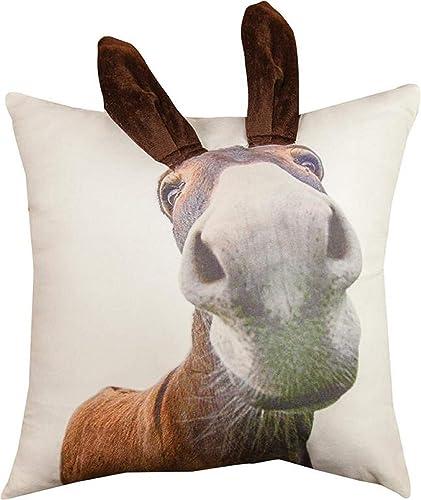 MW 3D Donkey Printed Pillow 18