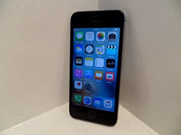 896abe127a1b54 Image Unavailable. Image not available for. Colour: Apple iPhone 5S 16GB - Space  Grey ...