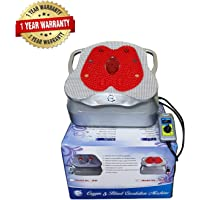 GHK H22 Full Body Oxygen and Blood Circulation Massager Machine Bcm (Silver-Red)