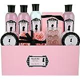 Gloss! - MDM-A - Maison de Mode Rose, Lys & Freesia - Coffret de Bain - 19 Pièces