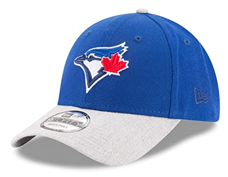 68f6fba869a Image Unavailable. Image not available for. Color  New Era Toronto Blue Jays  9Forty MLB The League Heather 2 quot  Adjustable Hat