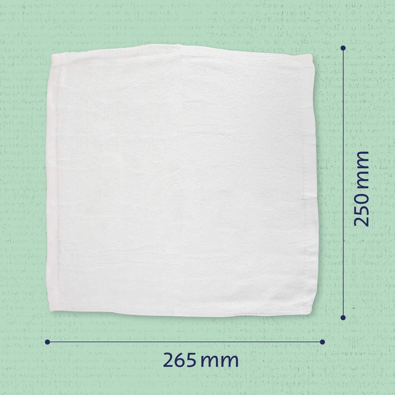 100/% Bambusfaser /& farbstofffrei nachhaltig /& umweltfreundlich extra weich /& saugstark f/ür Babys OEKO TEX/®. Waschlappen aus Bambus