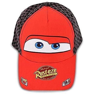 169fe0a01e84 Disney Toddler Boys Cars Lightning McQueen Cotton Baseball Cap, Age 2-5