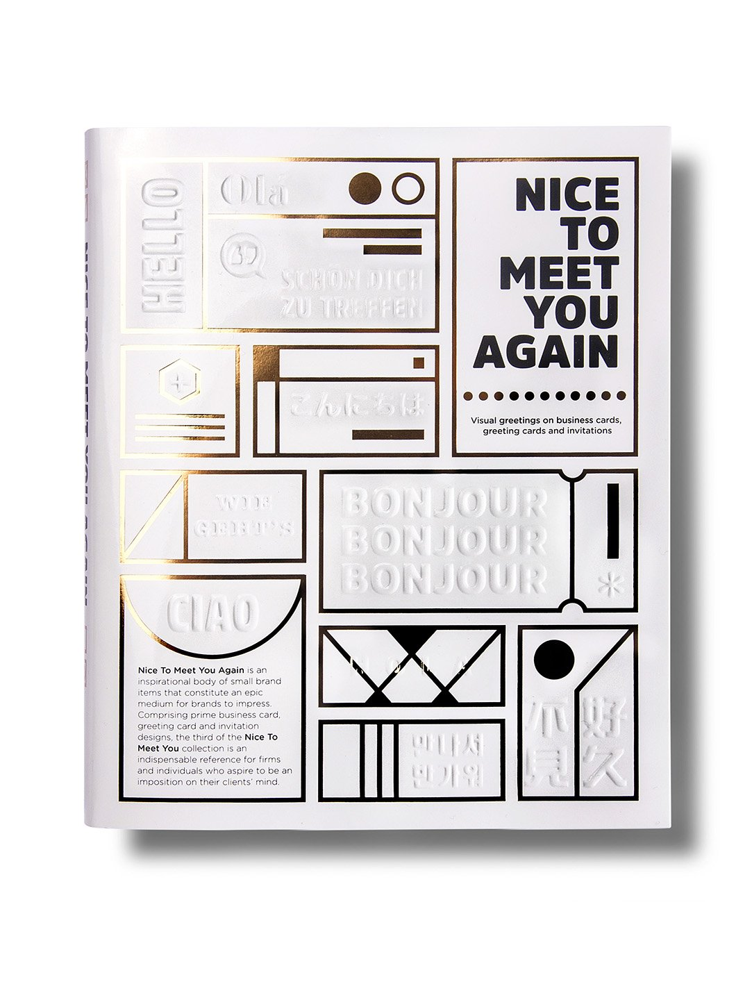 Nice to Meet You Again Visual Greetings on Business Cards – Greeting Cards and Invitations