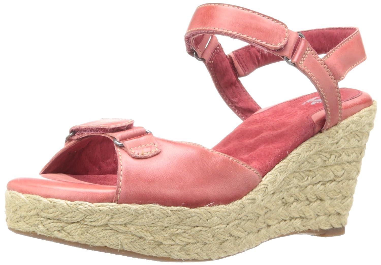 SoftWalk Women's San Marino Platform Sandal B00DRF1XHO 10 2A(N) US|Red