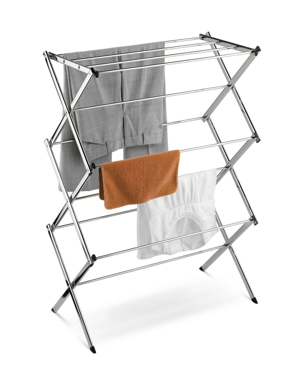 Foldable Laundry Drying Rack for Clothes Grey
