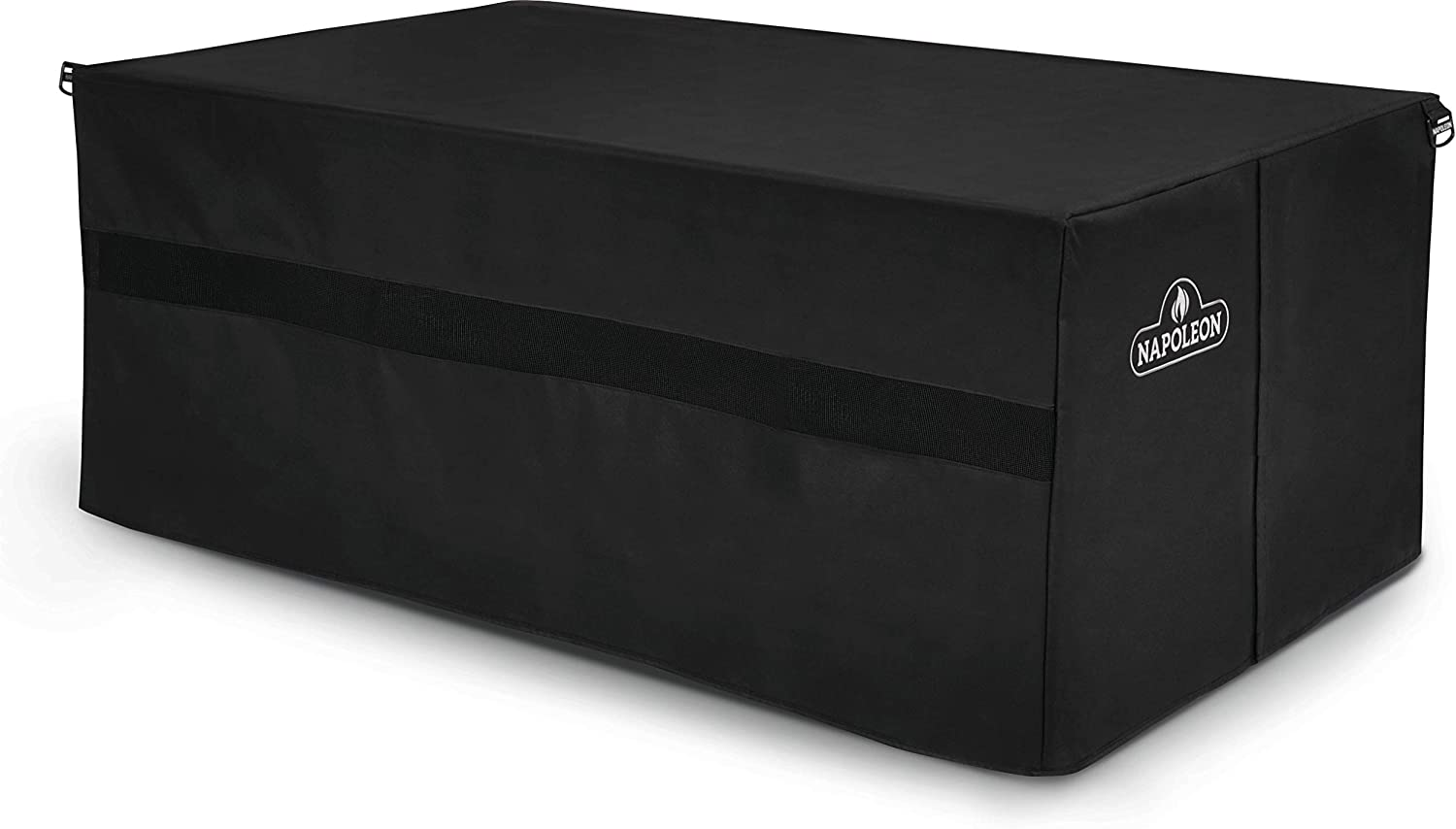 Amazon Com Napoleon 61851 Rectangle St Tropez Muskoka And Kensington Patio Table Cover Black Garden Outdoor