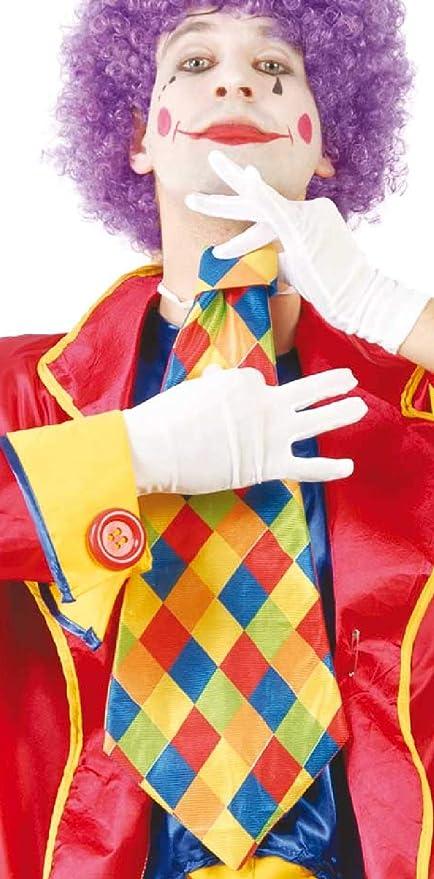 Fancy Me Corbata para Disfraz de Payaso con diseño de arcoíris de ...