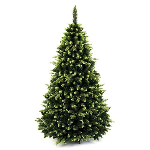 DWA ARBOL Navidad Grande en Caja, Bosque Tradicional Verde Soporte ...