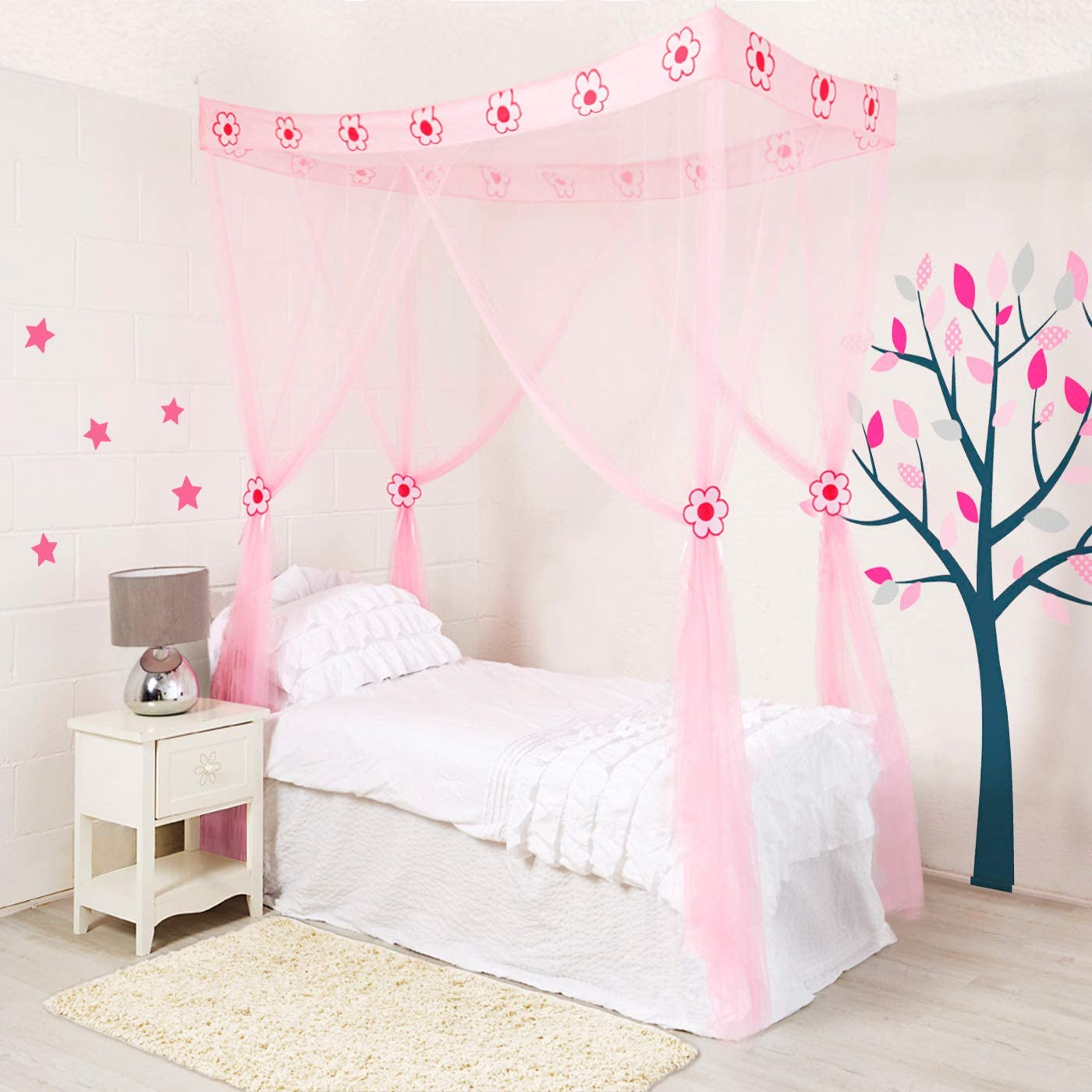 - Amazon.com: Wremedies For Easier Living Princess Bed Canopy For