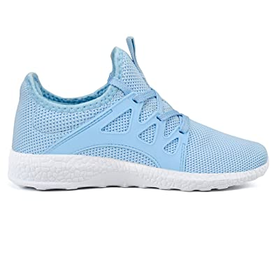 be4c23b799872 Feetmat Womens Running Shoes Ultra Lightweight Breathable Mesh Athletic  Walking Sneakers
