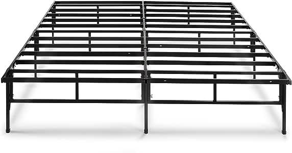Zinus - Base de colchón SmartBase de 14 Pulgadas, fácil de Montar, tamaño de Cuna, Marco de Cama de Plataforma de 30 x 75 Pulgadas, Repuesto de muelles de Caja, Estrecho
