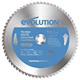 Evolution Power Tools 14BLADETS Tooth Thin Steel
