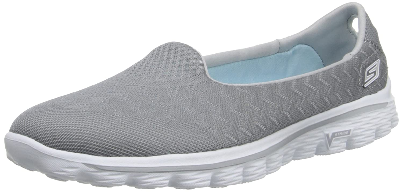 Skechers Performance Women's Go Walk 2-Axis Fashion Sneaker B00E9CBSW4 8.5 B(M) US|Grey