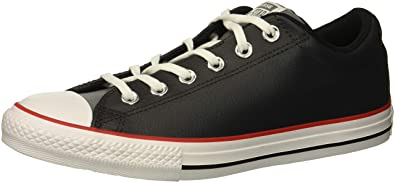 97670d883943cd Converse Boys  Chuck Taylor All Star Street Slip On Leather Low Top Sneaker  Almost Black