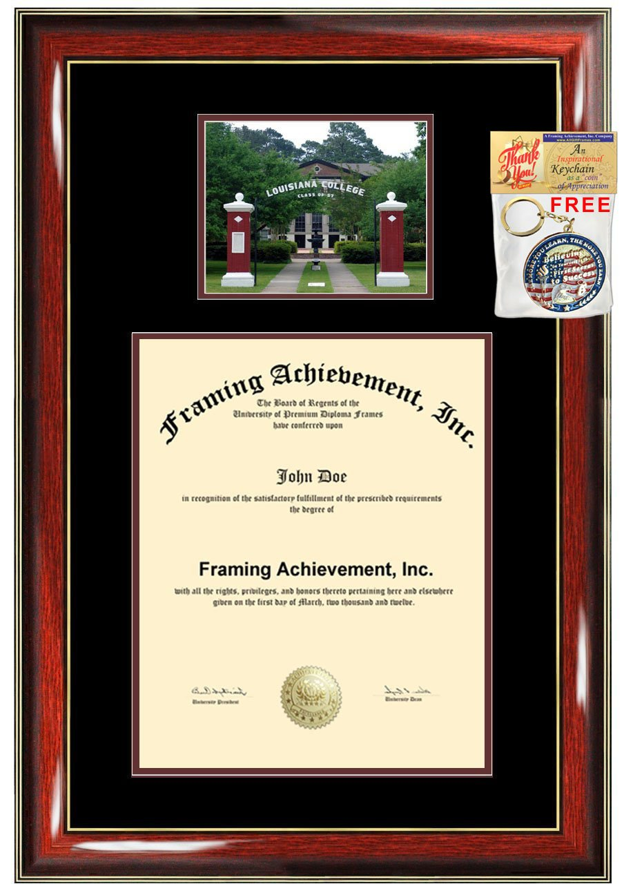 Amazon.com - Louisiana College Diploma Frame Graduation Degree Frame ...