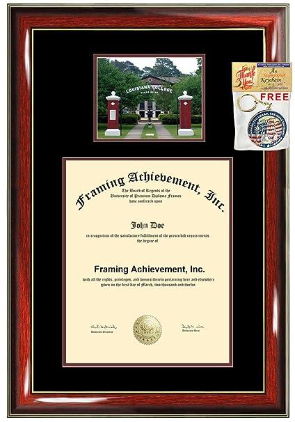 Amazon.com - Louisiana College Diploma Frame Graduation Degree Frame ...