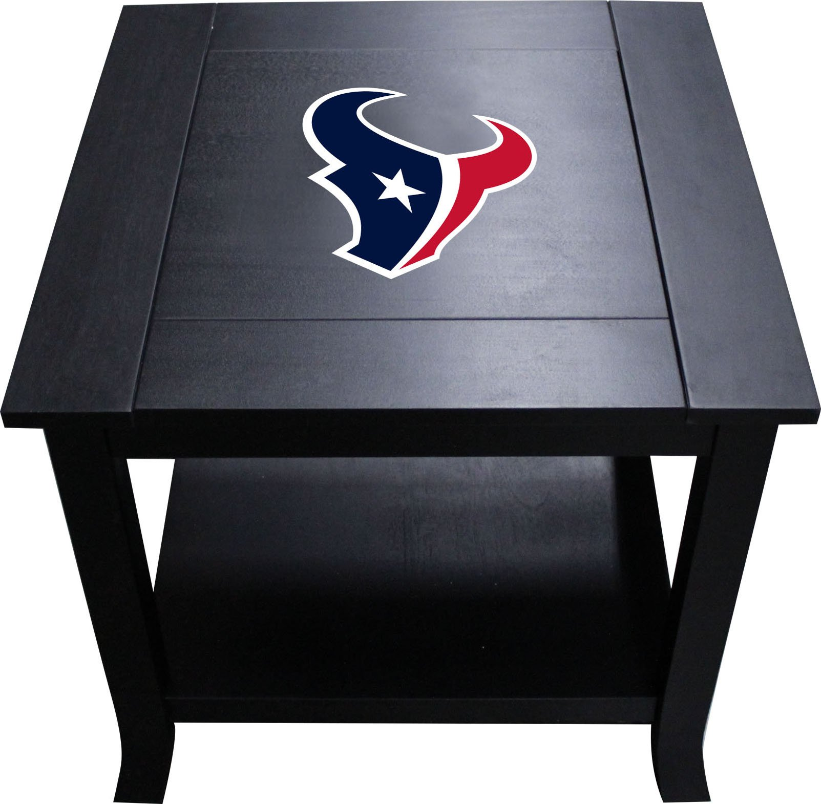 Imperial Officially Licensed NFL Furniture: Hardwood Side/End Table, Houston Texans