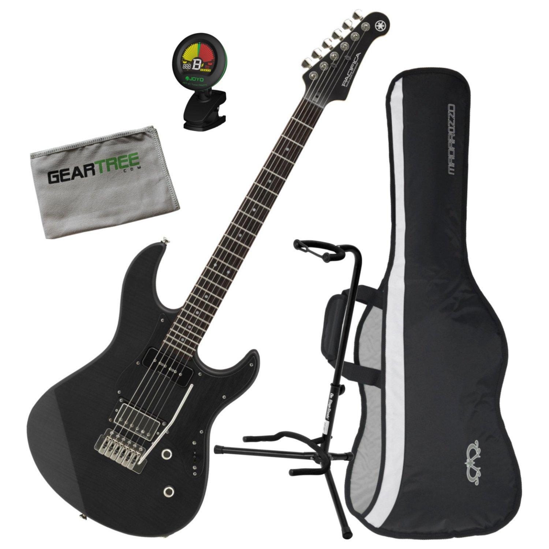 yamaha pac611vfmx mrbl limited edition electric guitar matte trans black w bag guitar affinity. Black Bedroom Furniture Sets. Home Design Ideas