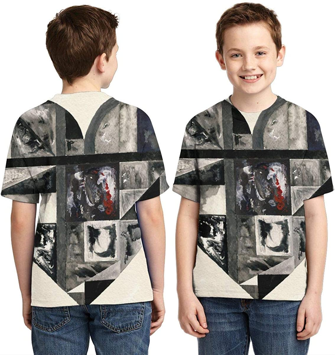 BowersJ Kids Gotye Kimbra Somebody That I Used to Know Design 3D Printed Short Sleeve Tees for Girls /& Boys Black