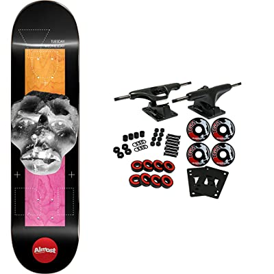 "Almost Skateboard Complete Yuri Stone Head Invert Impact Light 8.375"" : Sports & Outdoors"