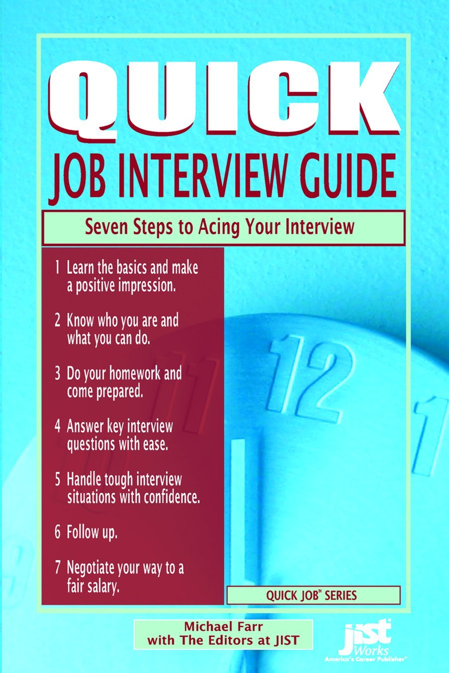 Quick Job Interview Guide Seven Steps to Acing Your Interview ...