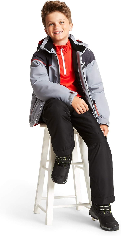 Strato Intermedio Stretch Bambino Consist Core Stretch Warm Backed Knitted Quick Drying Half Zip Fleece Dare 2B