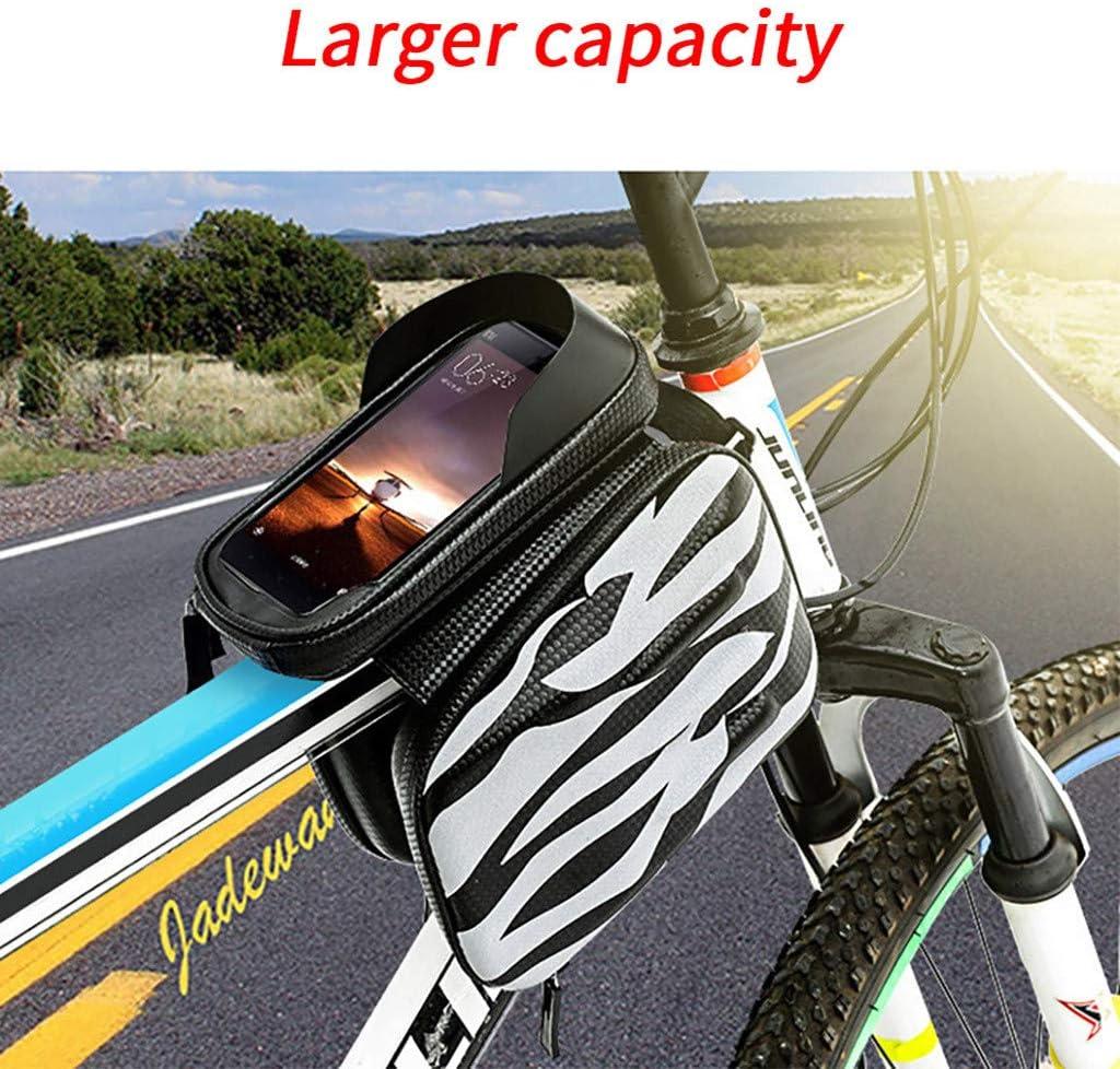SMILEQ Accesorios para Bicicletas Bicicleta Tubo Superior Paquete ...