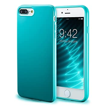 Apple Leather Back Cover Case for iPhone 7 - Sea Blue: Amazon.co
