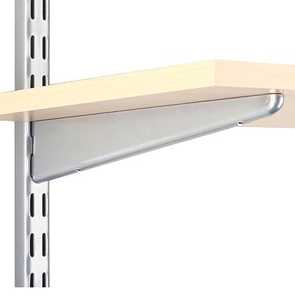 amazon com knape vogt john sterling dual trak adjustable wood rh amazon com adjustable shelves brackets adjustable shelving brackets uk