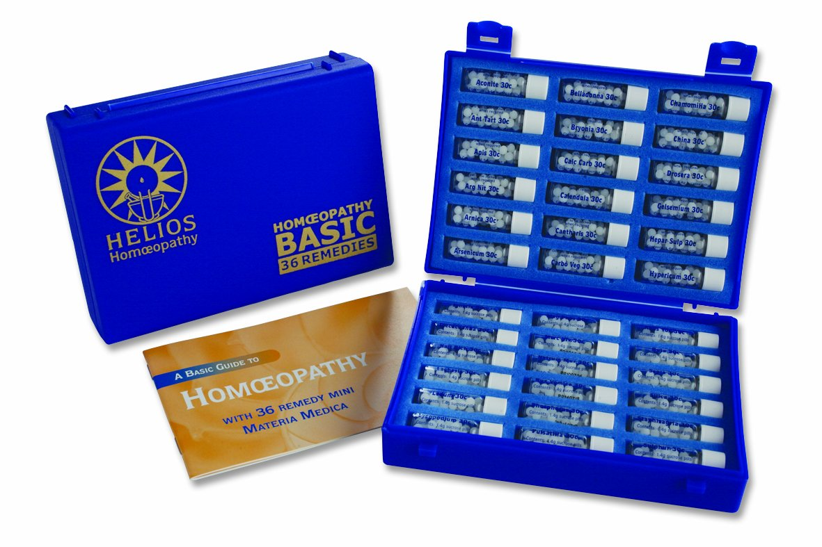 Helios Homeopathy 36 Homeopathic Remedy Deluxe Family Kit by Helios