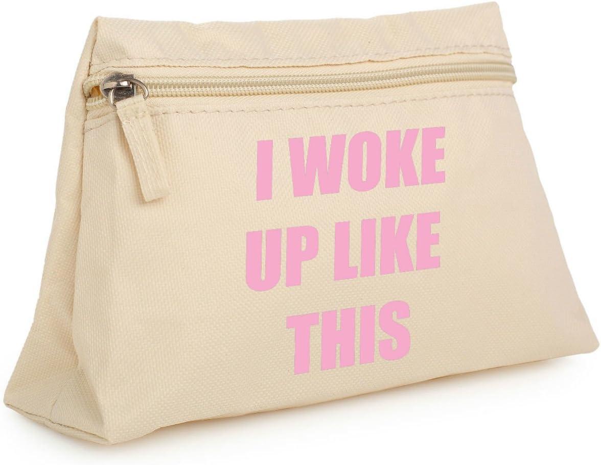 Minga London Desperté como este bolsa de maquillaje estuche neceser organizador bolso Tumblr carcasa: Amazon.es: Hogar