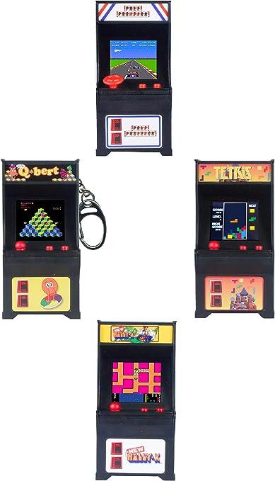 Tiny Arcade Set of 3 Frogger ~ Galaga ~ Dig Dug Super Impulse
