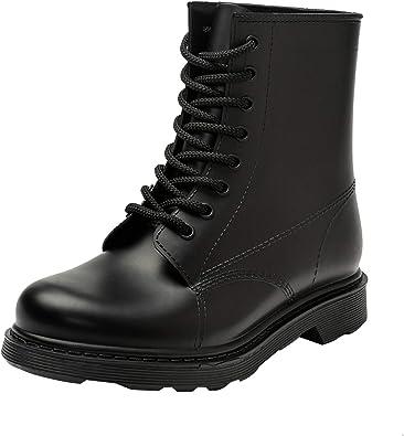 DKSUKO Women's Waterproof Rain Boots