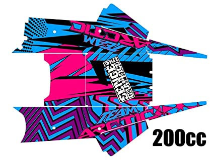 Accessories Senge Graphics 2003-2006 Arctic Cat Firecat/Sabercat Team Arctic Red Wrap