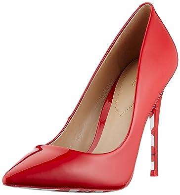 341ea02d6 Aldo Women's Stessy K Closed-Toe Pumps, red, 5.5 UK 38.5 EU: Amazon ...