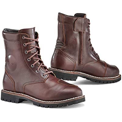 TCX Boots Men\'s Hero Waterproof Boots W/P Vintage Brown Size 42/Size 8.5: Automotive