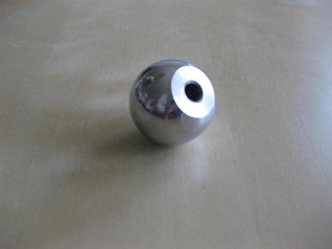 Pomello a sfera in alluminio 25/mm M10/filo lucido finitura maniglia Custom leva catering