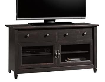 Amazon Com Sauder 409047 Edge Water Panel Tv Stand For 42 Estate
