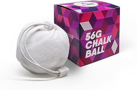 Secoroco Chalk Ball - Juego de 2 pelotas de magnesio rellenables, ideales para escalada, escalada en roca y deportes de fuerza