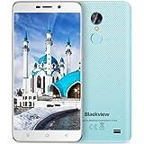 "Offerte Cellulari Blackview A10 Smartphone Dual SIM 3G Android 7.0, 5,0""HD Quad-Core - 2GB RAM + 16GB ROM,2.0MP+5.0MP ,2800mAh Cellulari in Offerta-Blu"