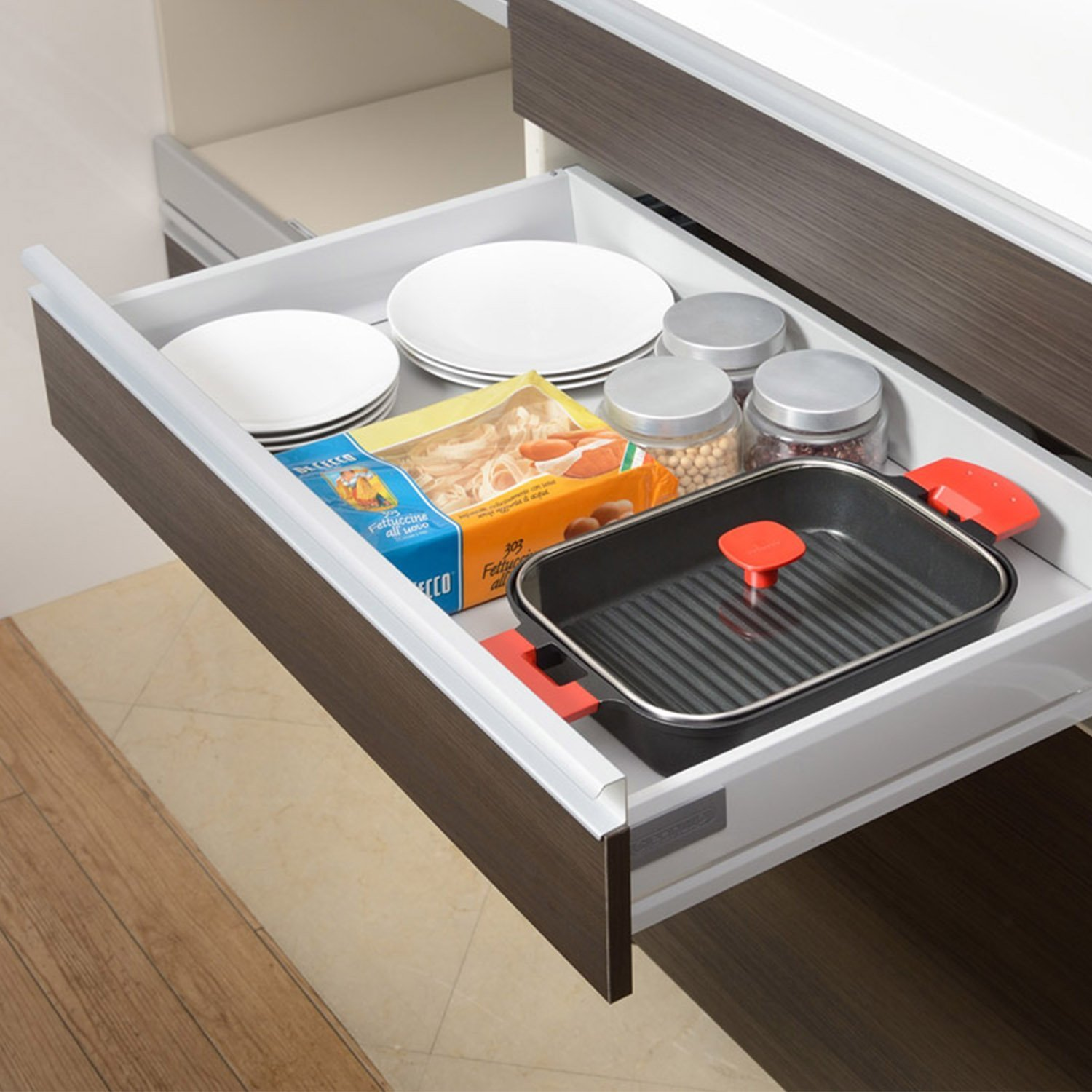 UchiCook 60-1016-05 Steam Grill with Glass Cover, Black by Sikura (Image #4)